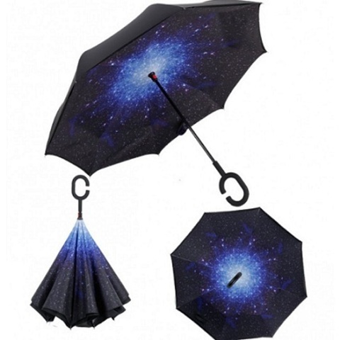 Зонт-наоборот Звездное небо сделан так, что теперь вы сможете легко...
