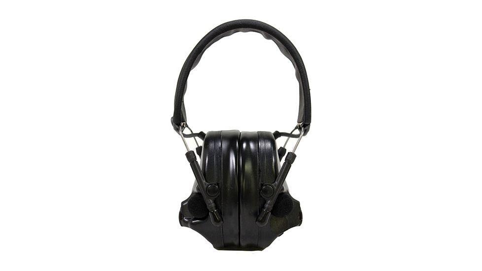 Активные наушники ComTac XPI, стандартное оголовье, без микрофона, чёрные чашки