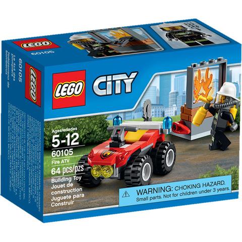 LEGO City: Пожарный квадроцикл 60105 — Fire ATV — Лего Сити Город