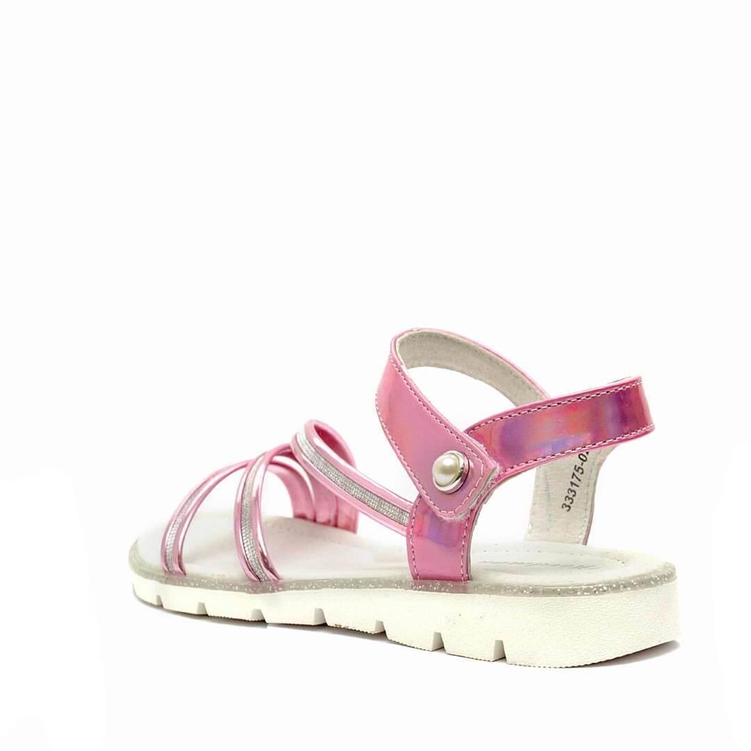 Кожаные анатомические сандалики Nordman Boom розовые