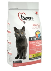1st Choice Vitality Indoor with chiken Cat
