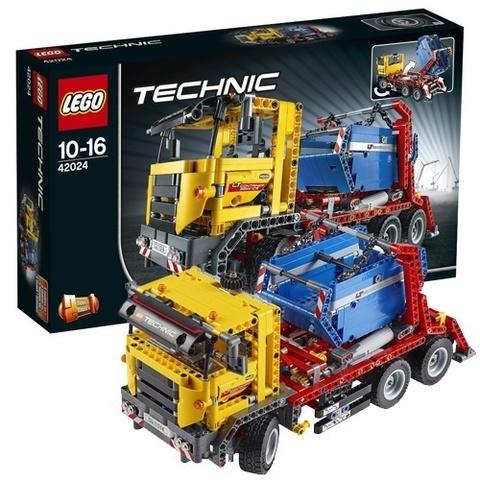 LEGO Technic: Контейнеровоз 42024