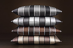 Наволочка 50x70 Elegante Stripe серая
