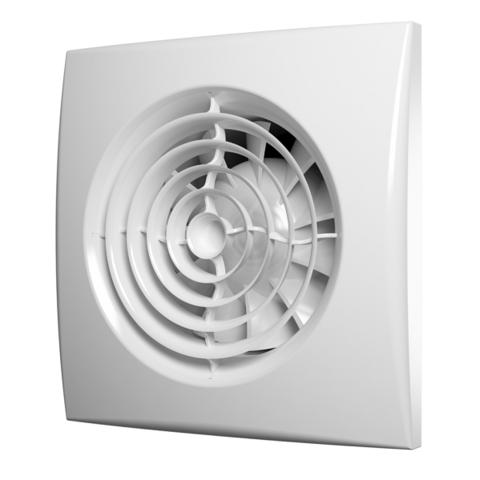 Вентилятор Эра AURA 4C MRH D100 с датчиком влажности, таймером и обратным клапаном