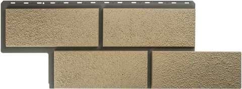 Фасадная панель Альта Профиль Камень неаполитанский Слоновая кость 1250х450 мм