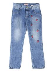 GJN010760 джинсы для девочек, айс