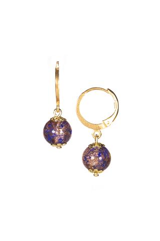 Комплект Amato синий (серьги, браслет)