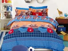Детское фланелевое постельное белье  Asabella 134