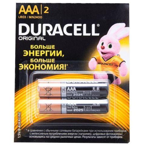 Элемент питания AAA LR03 Duracell original Alkaline