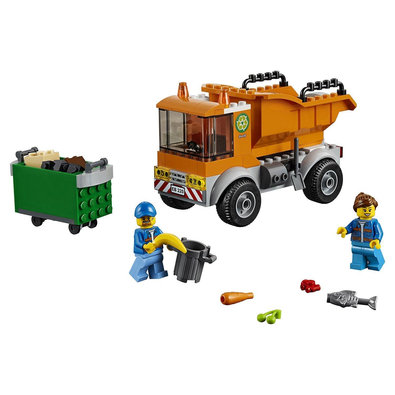 Конструктор LEGO City Great Vehicles Мусоровоз 60220