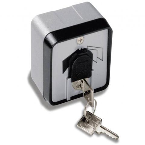 SET-J - Ключ-выключатель накладной с защитной шторкой Came