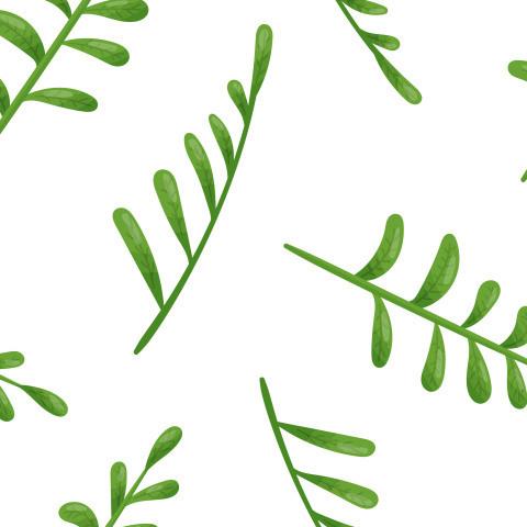 Абстрактный паттерн с листьями