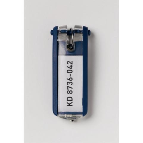 Метал.Мебель DURABLE 1957-07 набор из 6 брелоков синий