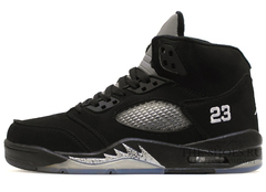 Кроссовки Мужские Nike Air Jordan V Retro Black Grey