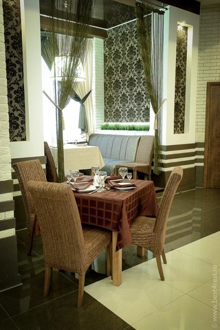 Мебель для ресторана в центре отдыха