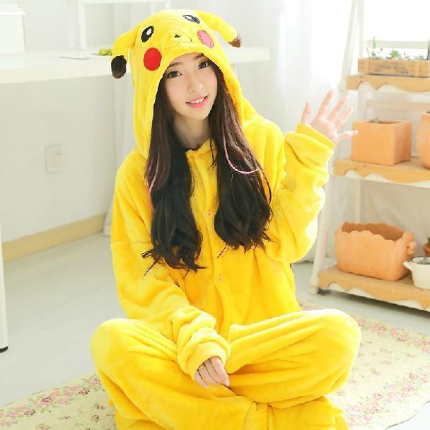 Кигуруми пижама костюм покемон Пикачу  купить пижамы костюмы ... f951f7482ab11
