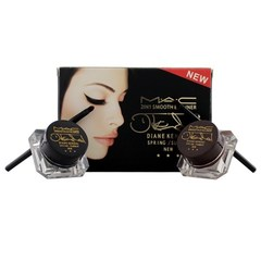 Гель-подводка M.A.C 2 in 1 Smooth Eyeliner Diane Kendal 2 цв. (арт. 5287)