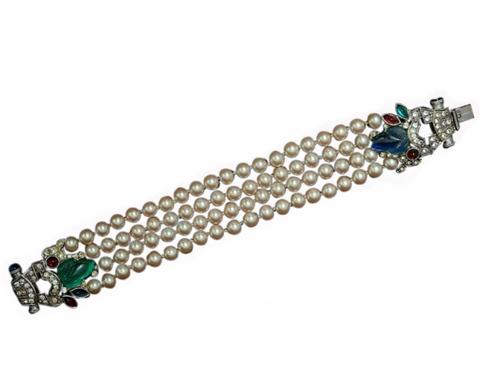 Элегантный браслет в стиле ар-деко от Givenchy
