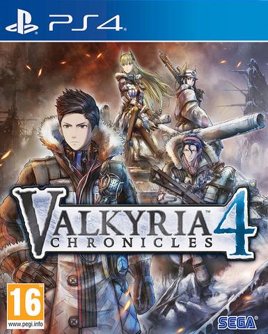 PS4 Valkyria Chronicles 4 (английская версия)