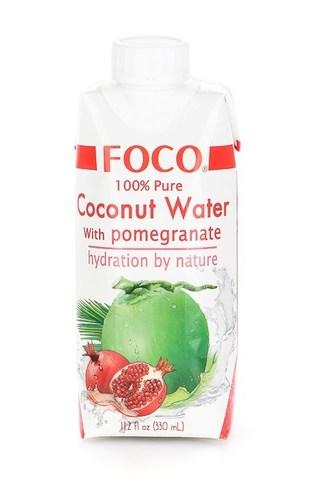 Кокосовая Вода с Гранатом Foco, 330 мл
