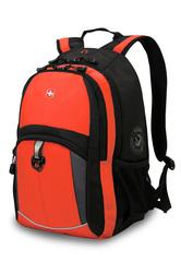 Рюкзак WENGER, цвет оранжевый/черный/серый  (3191207408)