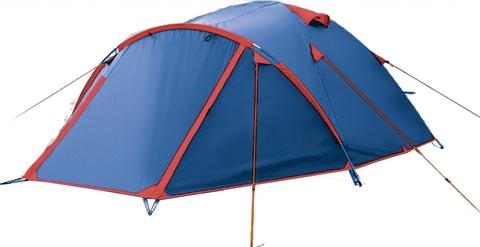Палатка двухслойная BTrace Vega (синий)