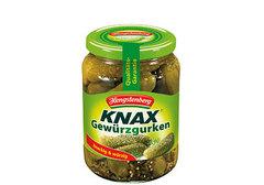 Огурцы маринованые KNAX, 370мл