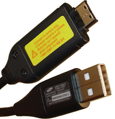 USB Кабель, провод для Samsung для фото CB20U05A, SUC C3, SUC-C5, SUC-C7, C8