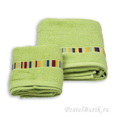 Набор полотенец 2 шт Caleffi Yupi зеленый