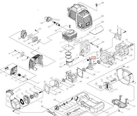 Шпонка сегментная 3X13X5 для лодочного мотора T3,5 Sea-PRO