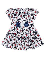 16223-1 платье детское, темно-синее