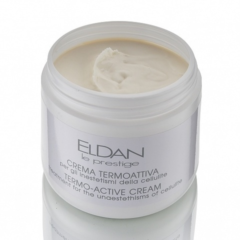 Eldan TERMO-active cream treatment for the unestethisms of cellulite, Антицеллюлитный термоактивный крем, 500 мл.