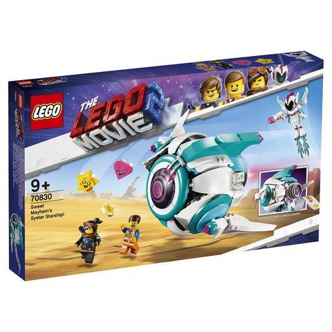 LEGO Movie: Падруженский Звездолёт Мими Катавасии 70830 — Sweet Mayhem's Systar Starship! — Лего Муви Фильм