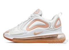 Кроссовки женские Nike Air Max 720 White Rose Pink