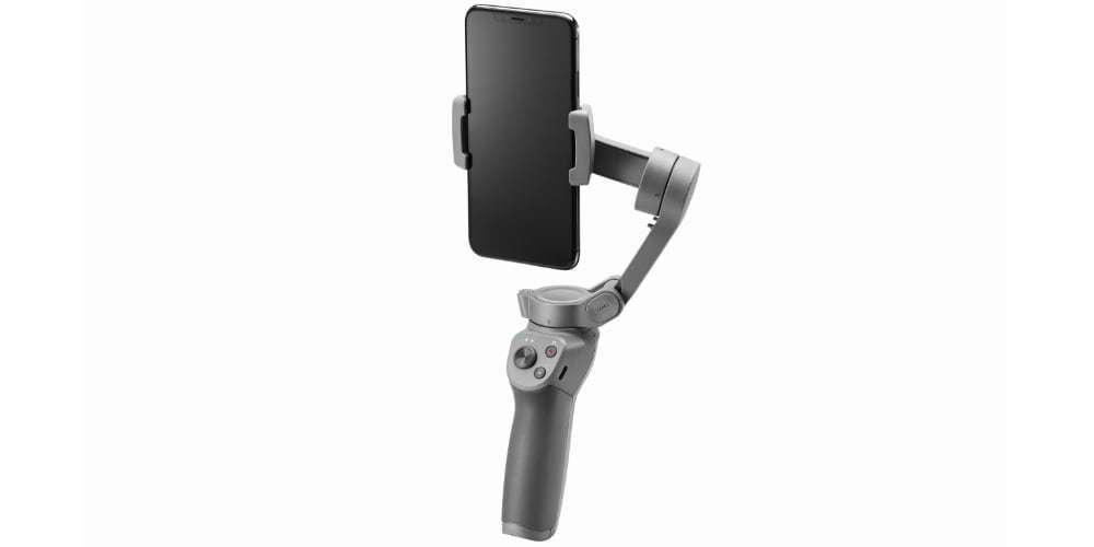 Стабилизатор OSMO Mobile 3 смартфон вертикально
