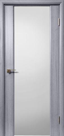 > Экошпон Дера Оскар 981, стекло триплекс белый, цвет сандал серый, остекленная