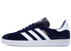 Кроссовки Мужские Adidas Gazelle Blue White