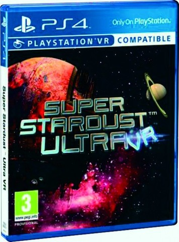 PS4 Super Stardust Ultra (поддержка VR, русская версия)