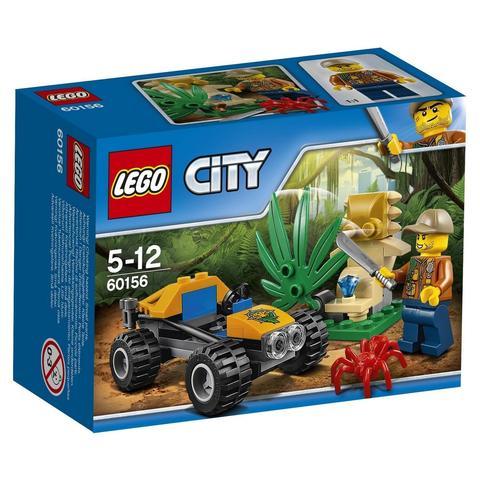 LEGO City: Багги для поездок по джунглям 60156 — Jungle Buggy — Лего Сити Город