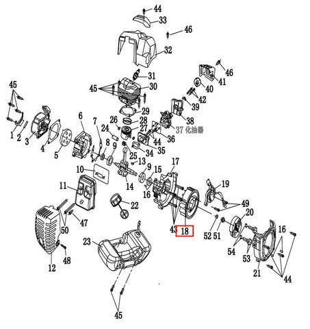 Маховик  для лодочного мотора T2 SEA-PRO