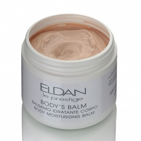 Eldan Body moisturizing balm, Бальзам для тела (от растяжек), 500 мл.