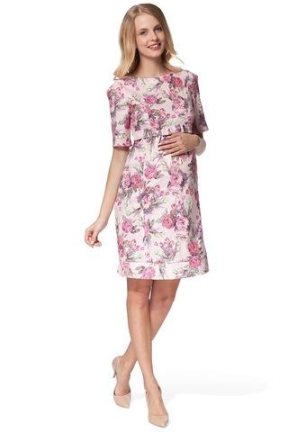Платье 07662 розовый