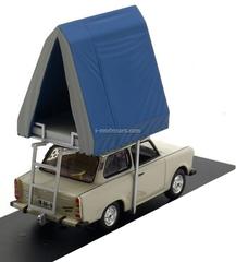 Trabant 601S Saloon Camping light grey 1980 IST188 IST Models 1:43