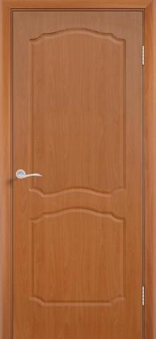 Дверь Сибирь Профиль Классика, цвет миланский орех, глухая