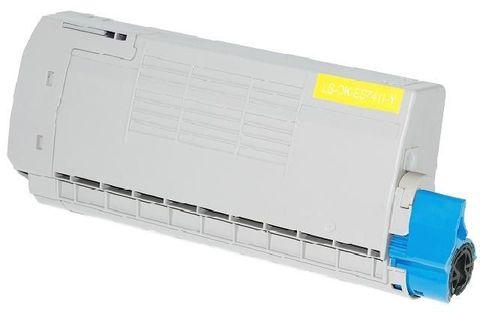 OKI TONER-Y-ES7411/PRO7411WT - Тонер-картридж желтый для принтера Pro7411WT (44318617)