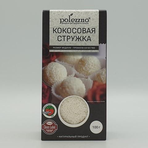 Кокосовая стружка POLEZZNO, 100 гр