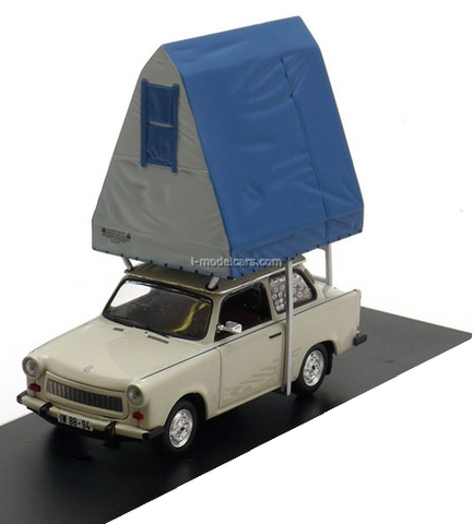 Trabant 601S Saloon Camping light grey 1980 IST188 IST Models 1:43