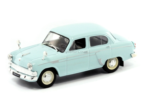 Moskvich-403IE light blue 1:43 DeAgostini Auto Legends USSR #141