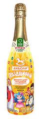Дудоли напиток газированный с игрушкой «Виноградно-грушевый» с витаминами 0,75л