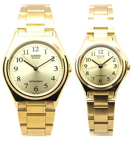 Купить Парные часы Casio Standard: MTP-1130N-9B и LTP-1130N-9B по доступной цене